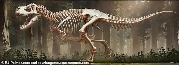 Tiết lộ gây sốc về khủng long bạo chúa - Ảnh 1.