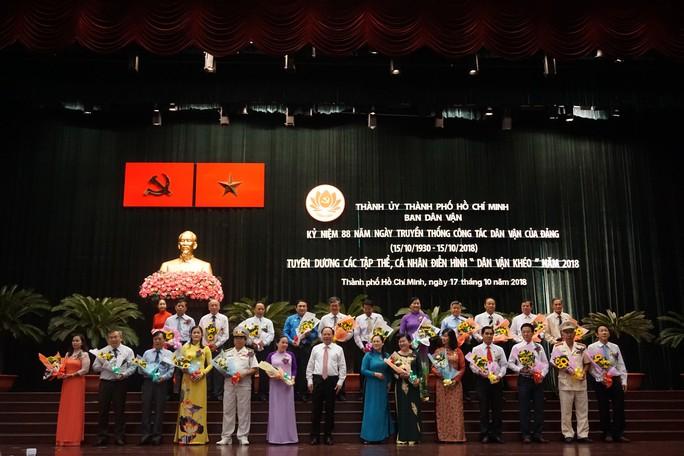 TP HCM: Tôn vinh điển hình Dân vận khéo - Ảnh 1.