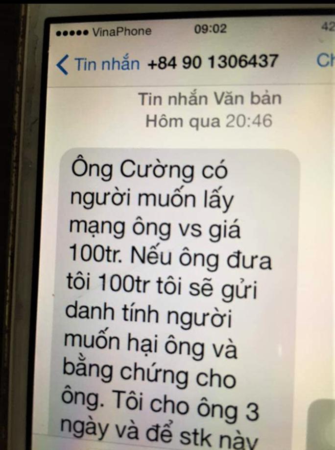 Tin nhắn đe dọa lãnh đạo Văn phòng đoàn ĐBQH có sau khi thông qua Luật An ninh mạng - Ảnh 1.