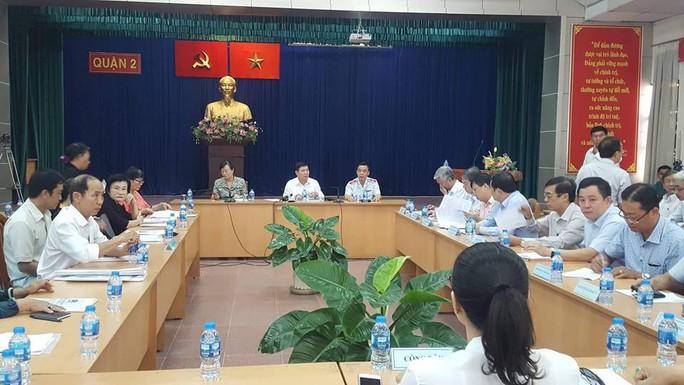 Chủ tịch UBND TP HCM: Xin lỗi và lắng nghe ý kiến người dân Thủ Thiêm - Ảnh 1.
