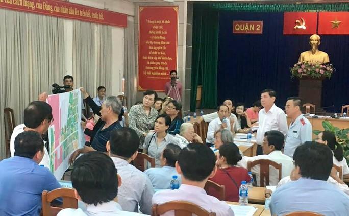 Chủ tịch UBND TP HCM: Xin lỗi và lắng nghe ý kiến người dân Thủ Thiêm - Ảnh 3.