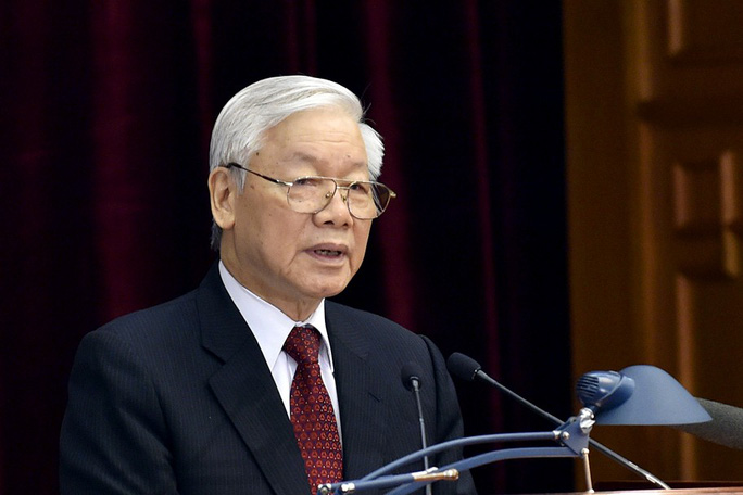 Trung ương giới thiệu Tổng Bí thư Nguyễn Phú Trọng để Quốc hội bầu làm Chủ tịch nước - Ảnh 1.