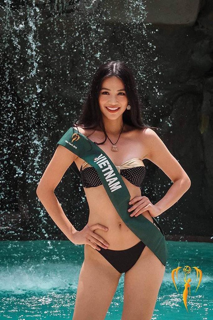 Hoa hậu Trái đất 2018: Nhan sắc Việt đoạt HCB phần thi áo tắm - Ảnh 2.