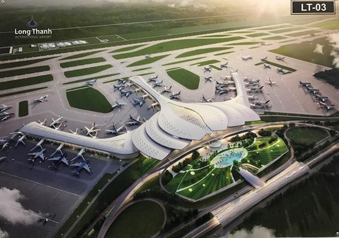 Báo cáo về dự án giải phóng mặt bằng sân bay Long Thành chậm - Ảnh 1.