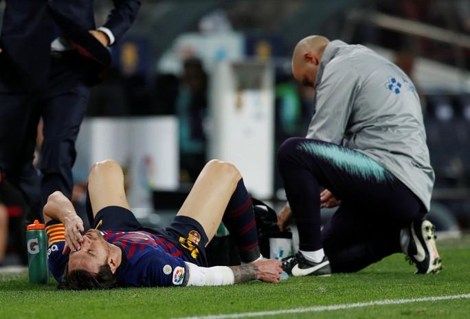 Barcelona mất Messi trong 3 tuần - Ảnh 1.