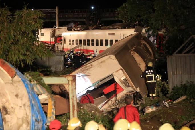 Tai nạn đường sắt ở Đài Loan: Ám ảnh cảnh tượng gần toa số 6 - Ảnh 1.
