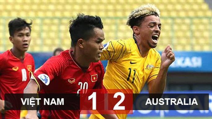 Video clip: Thua Úc 1-2, U19 Việt Nam chính thức bị loại - Ảnh 3.