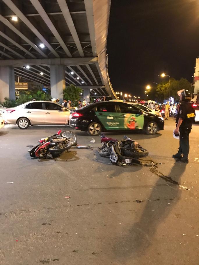 Nữ tài xế lái BMW gây tai nạn kinh hoàng có nồng độ cồn vượt mức cho phép - Ảnh 4.