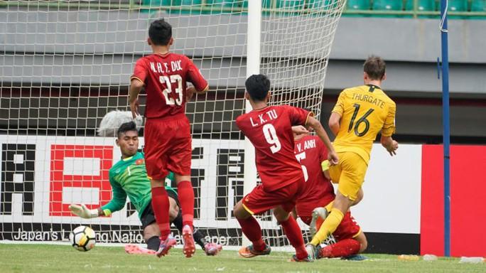 U19 Việt Nam thua Úc vì không dám chơi đôi công - Ảnh 1.