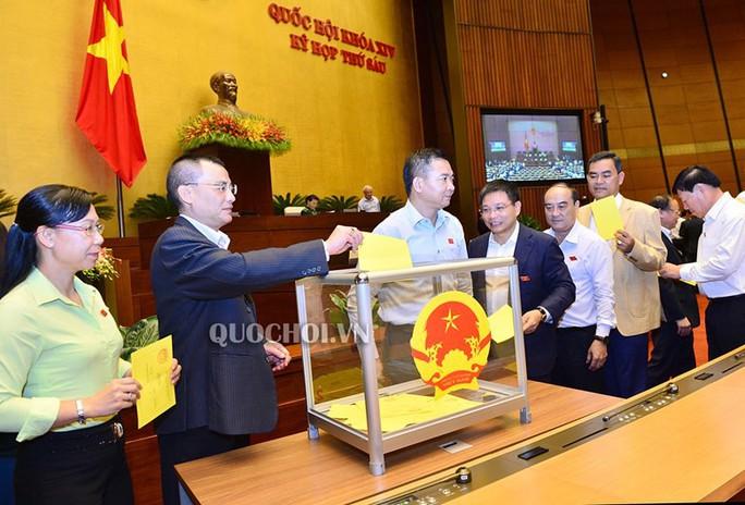 Quốc hội đã bỏ phiếu kín bầu Chủ tịch nước - Ảnh 2.