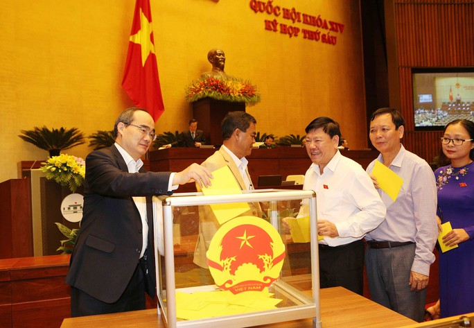 Tổng Bí thư Nguyễn Phú Trọng được bầu làm Chủ tịch nước - Ảnh 1.
