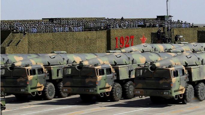 Mỹ và sức ép từ tên lửa Trung Quốc - Ảnh 1.