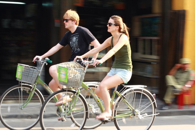Phát triển giao thông xe đạp ở Hội An - Ảnh 1.