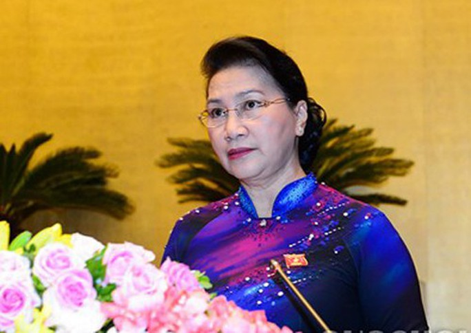 Chủ tịch QH Nguyễn Thị Kim Ngân nhận nhiều phiếu tín nhiệm cao nhất - Ảnh 1.