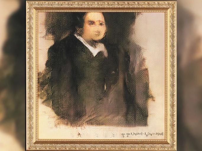 Tranh chân dung do trí tuệ nhân tạo vẽ, bán được giá 10 tỉ đồng - Ảnh 1.