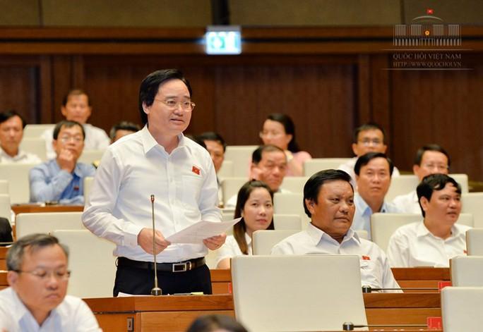 Bộ trưởng Phùng Xuân Nhạ giải trình về gian lận thi cử, sách giáo khoa - Ảnh 1.