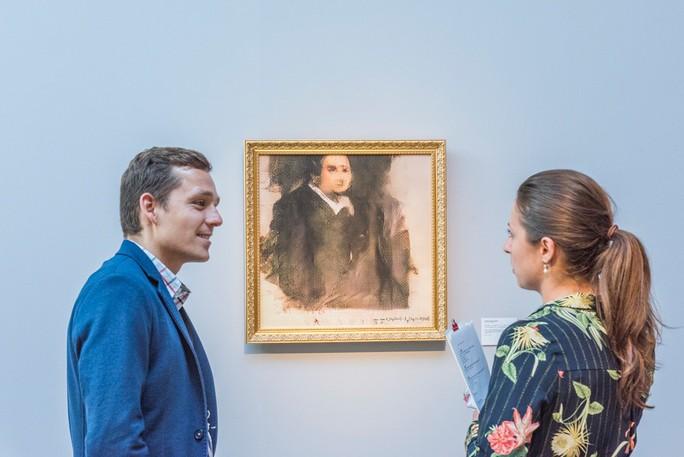Tranh chân dung do trí tuệ nhân tạo vẽ, bán được giá 10 tỉ đồng - Ảnh 2.