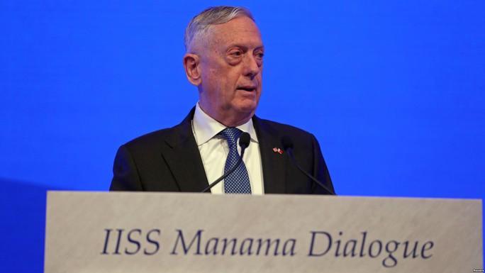 Ông Mattis: Nga không thể thay thế Mỹ ở Trung Đông - Ảnh 1.