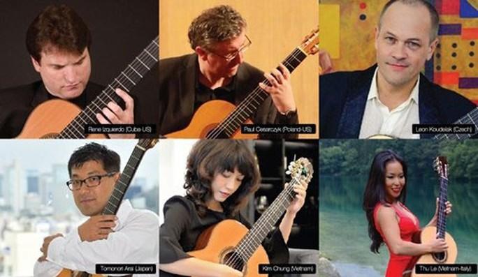 Liên hoan Guitar quốc tế TP HCM lần thứ 5 quy tụ nhiều nghệ sĩ tên tuổi - Ảnh 1.