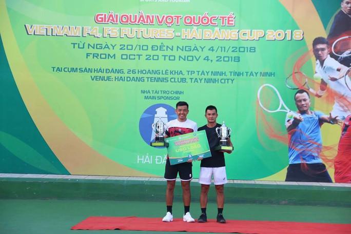 Lý Hoàng Nam giành lại uy danh với cúp vô địch đôi Vietnam F4 - Ảnh 4.