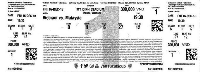 AFF Cup 2018: Vé trận gặp Malaysia đắt hơn vé trận Campuchia - Ảnh 1.