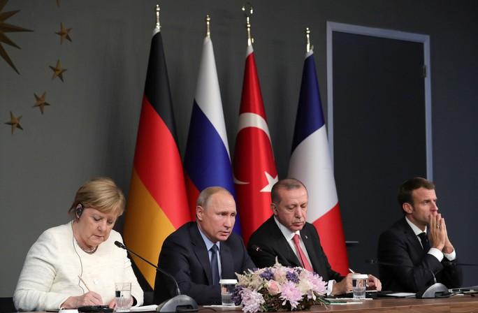 Họp thượng đỉnh 4 bên về Syria, Tổng thống Putin bị thúc cứng với ông Assad - Ảnh 1.