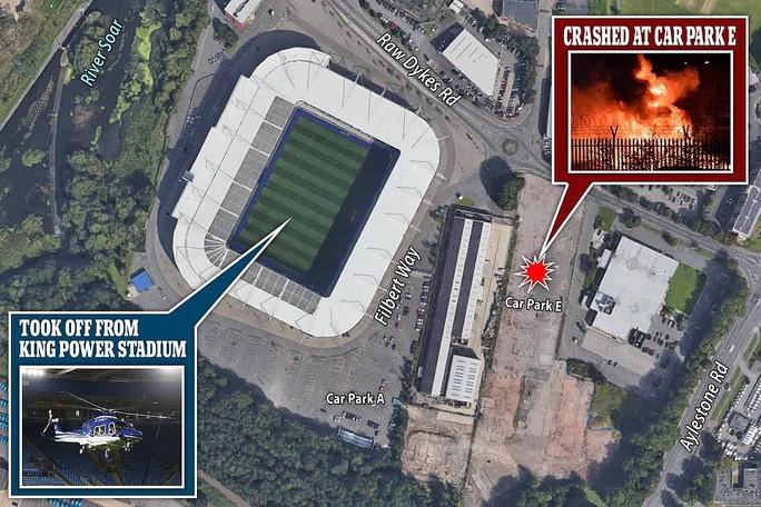 Máy bay Chủ tịch Leicester gặp nạn, bốc cháy bên ngoài sân King Power - Ảnh 6.