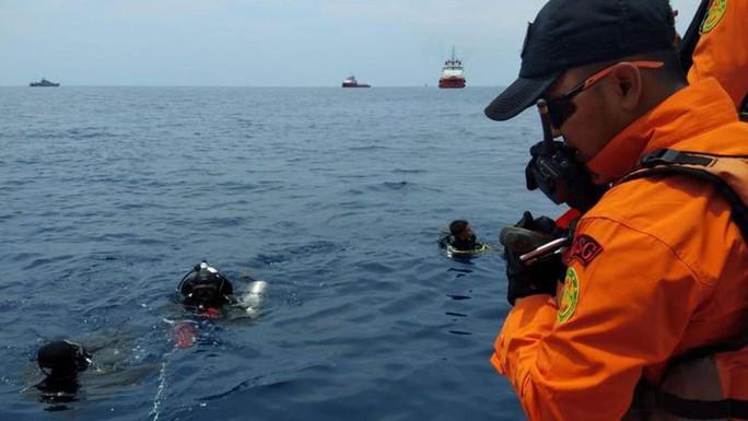 Rơi máy bay Indonesia: Phát hiện các phần thi thể - Ảnh 1.