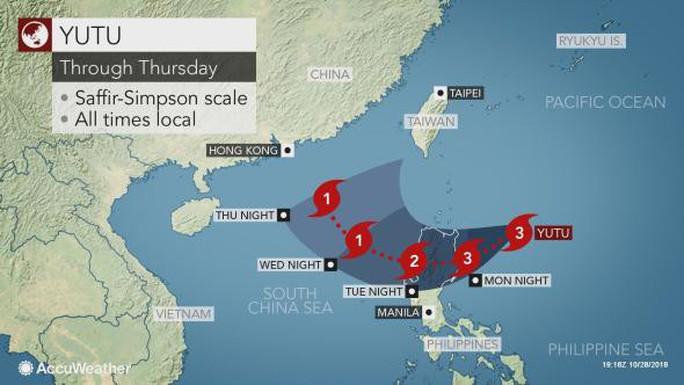 Siêu bão Yutu hạ cấp, Philippines vẫn nâng mức cảnh báo - Ảnh 3.