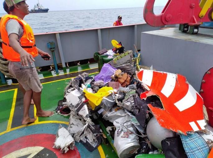 Rơi máy bay Indonesia: Phát hiện các phần thi thể - Ảnh 3.