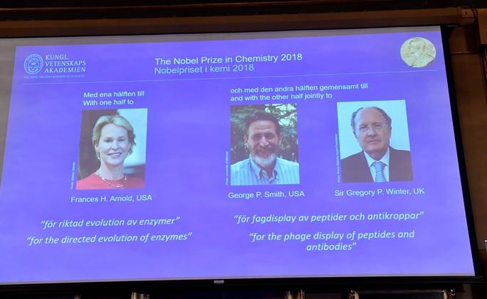 Nobel Hóa học 2018 vinh danh 3 nhà khoa học tiến hóa - Ảnh 3.