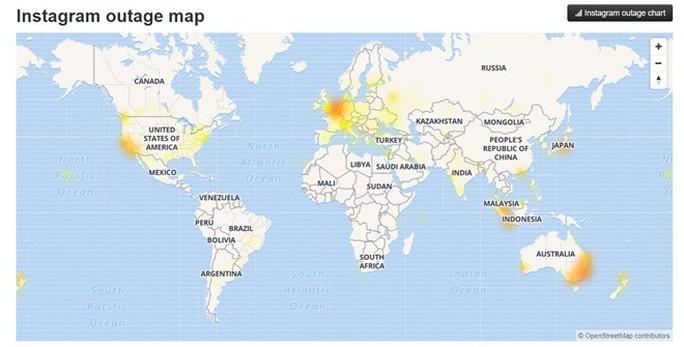 Instagram bị sập trên toàn cầu - Ảnh 3.