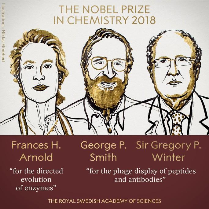 Nobel Hóa học 2018 vinh danh 3 nhà khoa học tiến hóa - Ảnh 2.