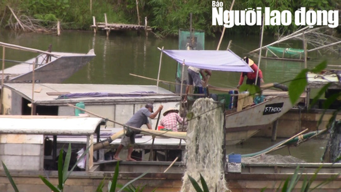 Công an vào cuộc điều tra vụ khai thác cát, sỏi lậu trên sông Hương - Ảnh 3.