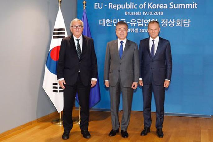 Vai trò lớn hơn của EU với Triều Tiên - Ảnh 1.