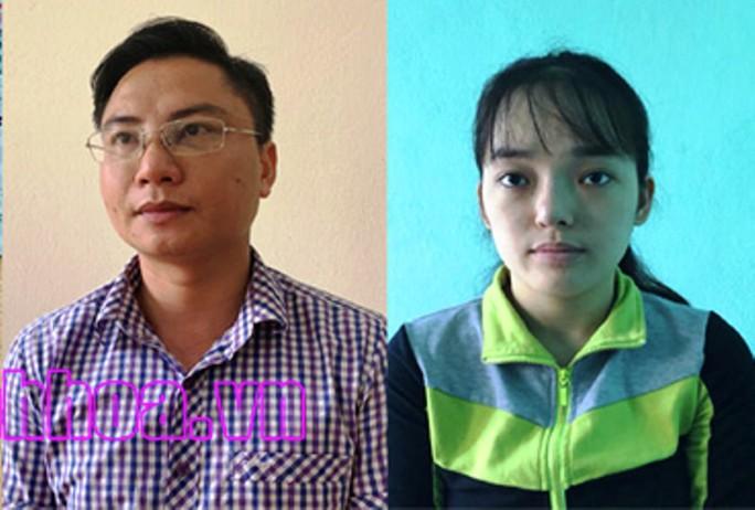Bắt 1 người có thẻ phóng viên và 1 nữ cộng sự tống tiền DN 50 triệu đồng - Ảnh 2.