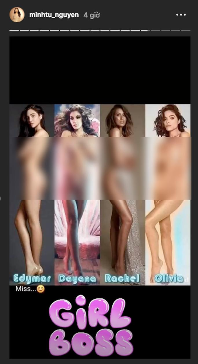 Minh Tú lên tiếng vụ bị tố chụp ảnh nude còn đi thi hoa hậu - Ảnh 3.