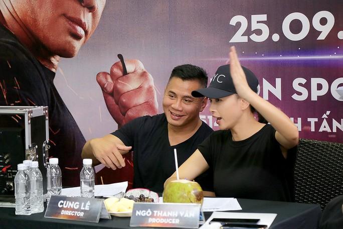 Ngô Thanh Vân hợp tác với võ sĩ MMA Cung Lê làm phim triệu đô - Ảnh 2.