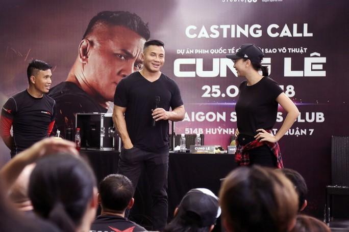 Ngô Thanh Vân hợp tác với võ sĩ MMA Cung Lê làm phim triệu đô - Ảnh 1.