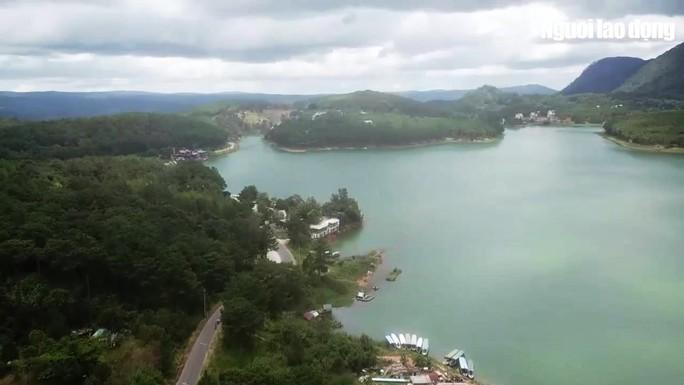 Danh thắng quốc gia hồ Tuyền Lâm tiếp tục bị xới tung - Ảnh 1.
