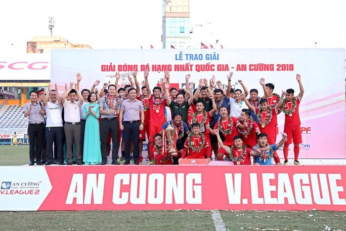 Viettel chính thức lên V-League, CAND rớt xuống Giải Hạng nhì - Ảnh 3.