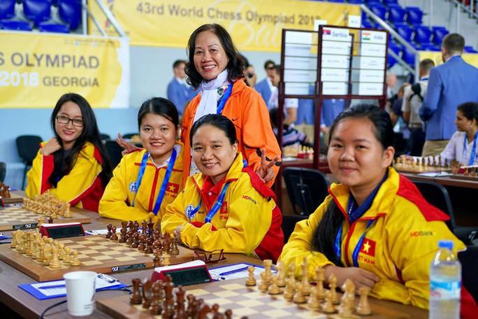 Cờ vua Việt Nam áp sát Top 10 Olympiad đồng đội thế giới - Ảnh 4.