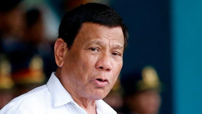 Ông Duterte bất ngờ đề cập đến bệnh ung thư - Ảnh 1.