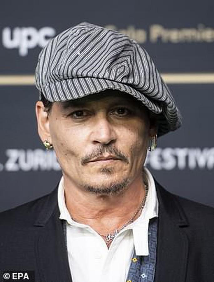 Tài tử Johnny Depp tố ngược vợ cũ - Ảnh 2.