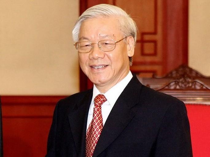 Giới thiệu Tổng Bí thư Nguyễn Phú Trọng làm Chủ tịch nước - Ảnh 1.