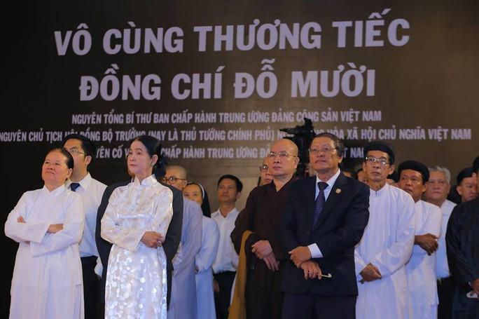 TP HCM: Xúc động tiễn biệt nguyên Tổng Bí thư Đỗ Mười - Ảnh 6.