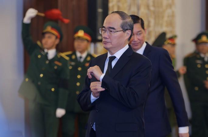 TP HCM: Xúc động tiễn biệt nguyên Tổng Bí thư Đỗ Mười - Ảnh 1.