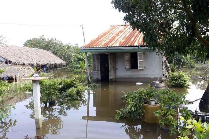 Người dân ở làng biệt thự hoảng hốt khi nước tràn vào nhà lúc rạng sáng - Ảnh 1.