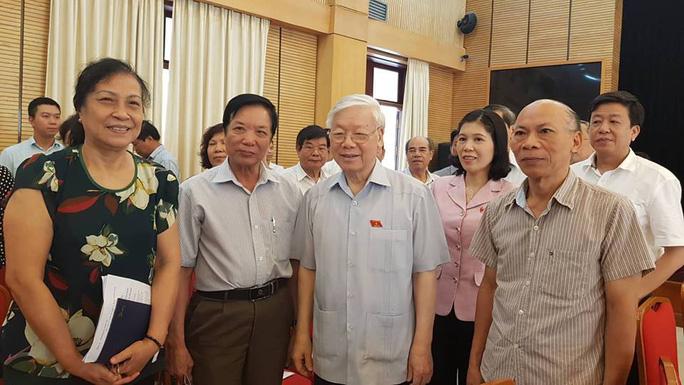 Tổng Bí thư nói lý do Trung ương giới thiệu Tổng Bí thư để QH bầu làm Chủ tịch nước - Ảnh 1.
