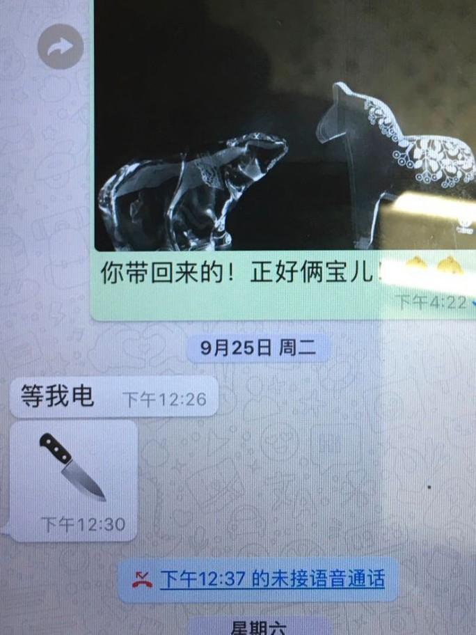 Chủ tịch Interpol gửi hình con dao cho vợ trước khi mất tích - Ảnh 2.